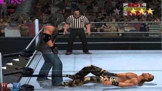 WWE Smack Down vs Raw 2011™ PC gameplay: Shawn Michaels in 5 star match (Undertaker