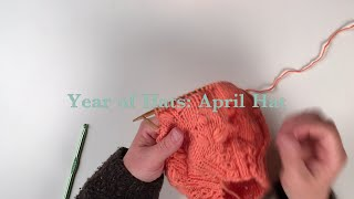 Flower Puff Stitch: Kelbourne Woolens Year of Hats