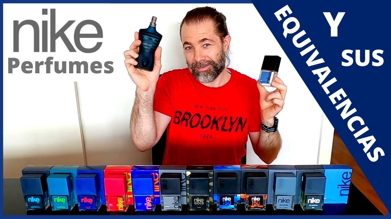Geometría Desilusión guardarropa  NIKE: Perfumes y Clones!! - YouTube