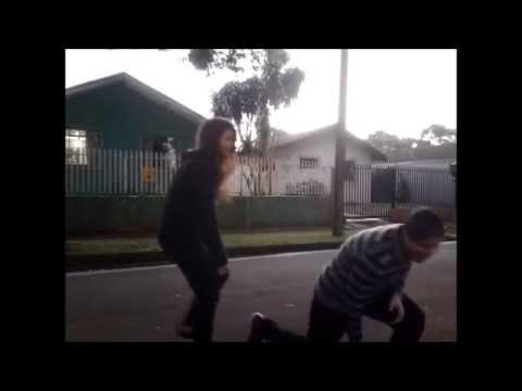 Fail Wrecking Ball com Marcus Vinicius e Larissa