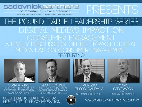 Digital Media and Consumer Engagement with Sean Atkins, Geoff ...