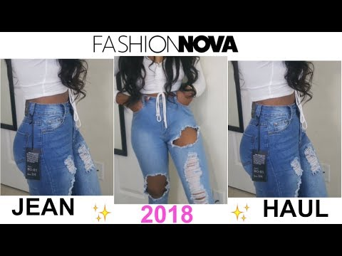 UNSPONSORED FASHION NOVA JEAN TRY ON HAUL !!! SPRING 2018 | CRA'DEJA C