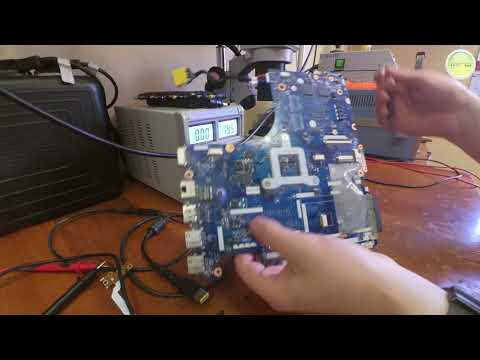 Диагностика, ремонт цепи питания. Ноутбук Lenovo G505S. LA-091P.