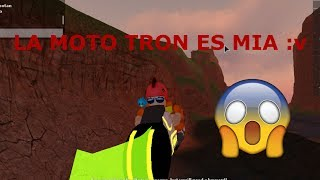 I BUY THE JAILBREAK MOTO TRON!!! AND PASS THIS ROBLOX