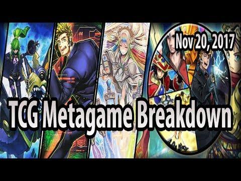 TCG Metagame Breakdown (Nov 20, 2017) - Spyrals recover, Trickstars gain ground & Musketeers fail..