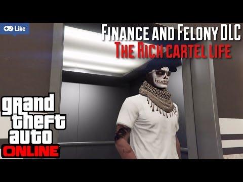 GTA V online | Finance & Felony DLC | Money, Cars & Drugs | Living The Cartel Life | PS4 Livestream