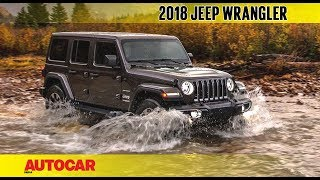 2018 Jeep Wrangler | First Look Preview | Autocar India