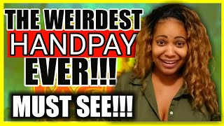 WTF??? 🤔 The WEIRDEST Handpay EVER!!! - 🎰 Jackpot Handpay Slots Win 💰 - MUST SEE!!!