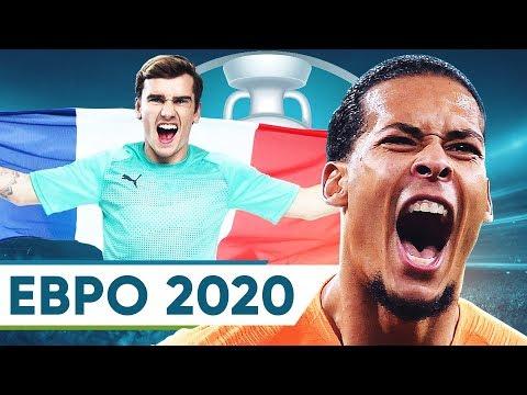 5 ГЛАВНЫХ ФАВОРИТОВ ЕВРО 2020. КТО ВЫИГРАЕТ ЧЕМПИОНАТ ЕВРОПЫ? - GOAL24