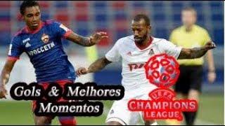 Lokomotiv Moscou vs Porto - Liga Dos Campeões - Gols & Melhores Momentos