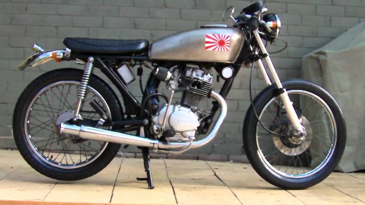 Bien connu honda cb125 cafe racer sweet note :) - YouTube ZP58