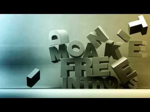 Cinema 4D   Falling Words and Letters [download free c4d project]