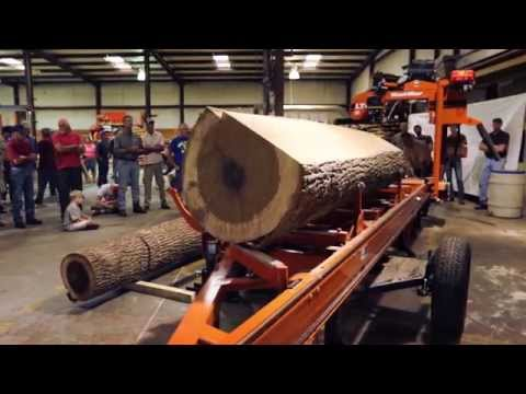 Woodmizer Sawmill For Sale >> Lt40 Hydraulic Portable Sawmill See It In Action