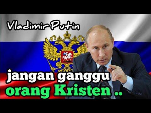 Putin : Jangan Ganggu Orang Kristen