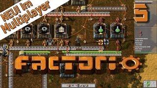Factorio Multiplayer #5 Grüne Flaschen Der Industrie und Fabrik Simulator deutsch HD