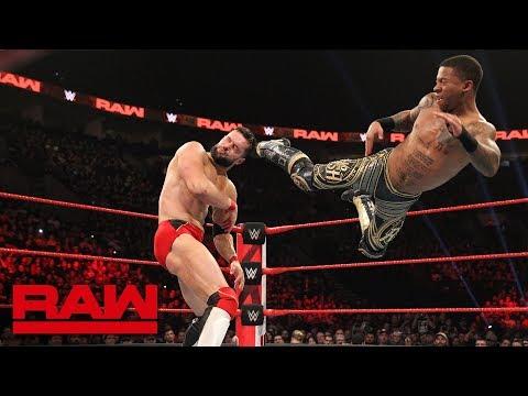 Finn Bálor vs. Lio Rush: Raw, Feb. 4, 2019