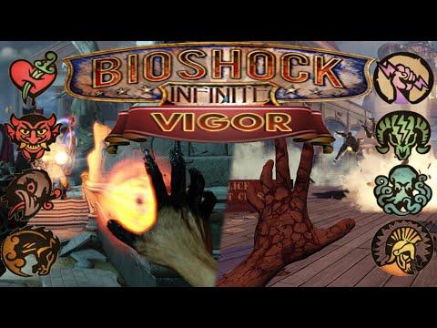 Bioshock Infinite All Vigors + demonstrated 1080p HD