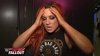 Becky Lynch is frustrated but focused: Raw Fallout, March 28, 2016