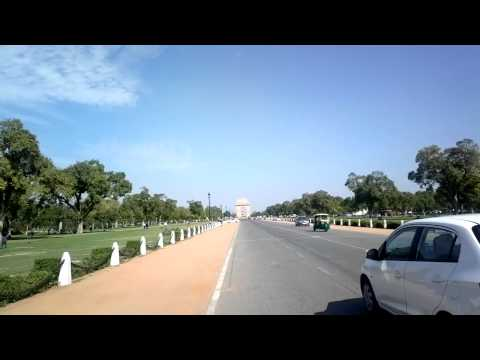 president house to india gate