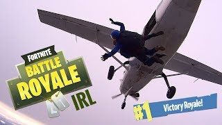 Fortnite In Real Life : Vlog 1