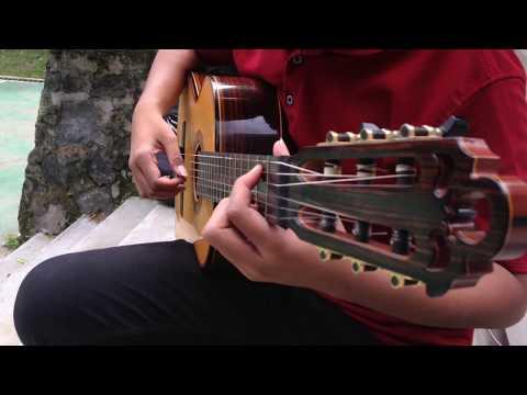 Opick - Rapuh Tutorial Fingerstyle Guitar Cover By Bima Kuntara [Garage Band App]