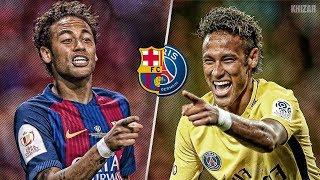 Neymar in Barcelona vs Neymar in PSG | HD