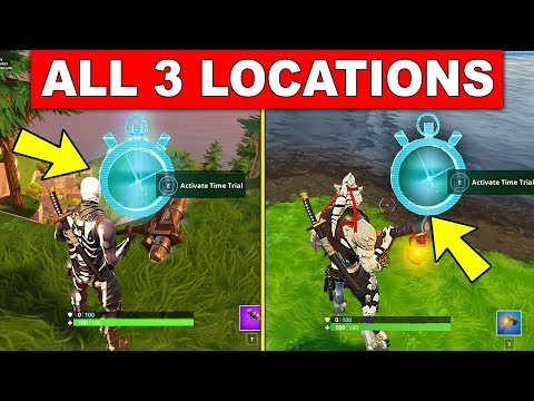 complete timed trials all 3 locations week 3 challenges fortnite season 6 - fortnite season 6 week 3 time trials