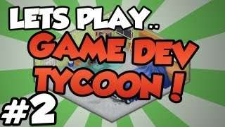 Lets Play Game Dev Tycoon! | Part 2 - Skyrim & Butt Pirates! | You choose the games!