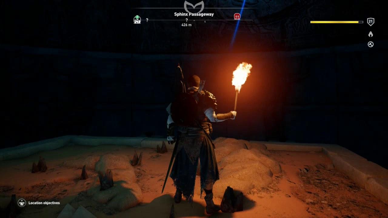 Assassins Creed Origins Sphinx