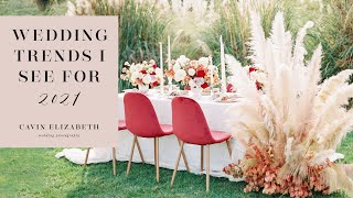 2021 Wedding Trends I Hope to See That Are Sophisticated and Elevated