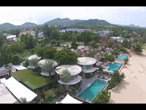 วิว Papa Monkey Resort มุมสูง