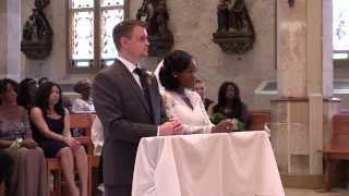 Scott & Ada - Wedding Ceremony at Saint Joseph Catholic Church