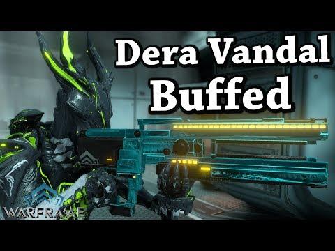 Warframe | Dera Vandal [Buffed] (4 Forma Build)