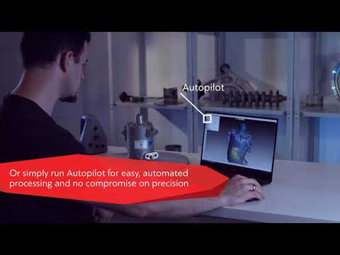 Industrial 3D scanning and data processing in Artec Studio0