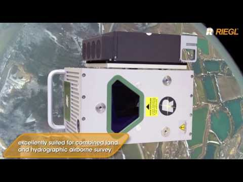 The RIEGL VQ-820-G Topo-Hydrographic Airborne Laser Scanner