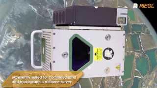 the riegl vq 820 g topo hydrographic airborne laser scanner
