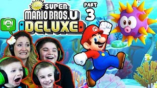 Super Mario Bros U Deluxe Part 3 by HobbyFamilyGaming