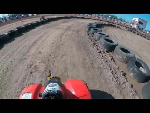 5/14/16 50-70cc TT Heat race Kc Raceway