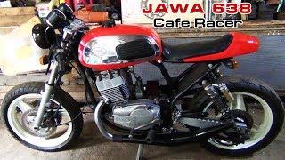 JAWA 638 Cafe Racer (часть 3)