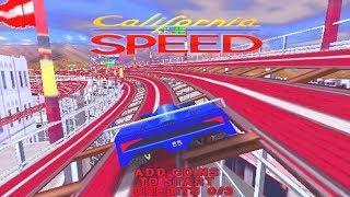 California Speed - Classic Arcade Racing Game (Atari/Midway 1998)