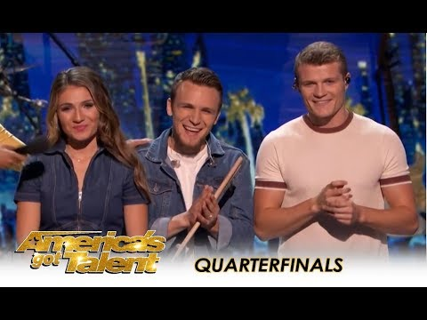 We Three: The Music Trio America FELL IN LOVE With! | America's Got Talent 2018