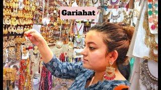 Kolkata Street Shopping Vlog   Gariahat Jewellery Shopping Vlog   Deblina Rababi