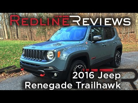 2016 Jeep Renegade Trailhawk – Redline: Review