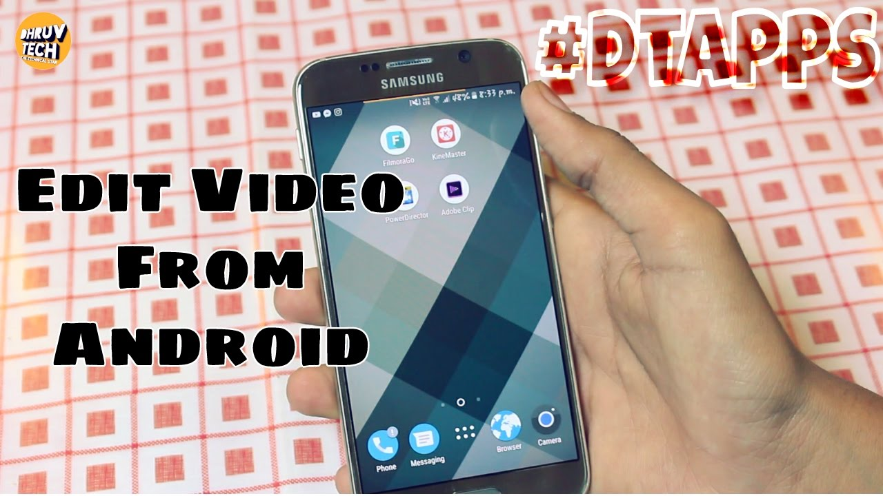 How to edit videos from android mobile dtapps youtube how to edit videos from android mobile dtapps ccuart Choice Image