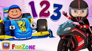 Ten Little Supercars Andamp Superbikes - 3d Nursery Rhymes Andamp Songs For Babies By Chuchu Tv Kids Songs