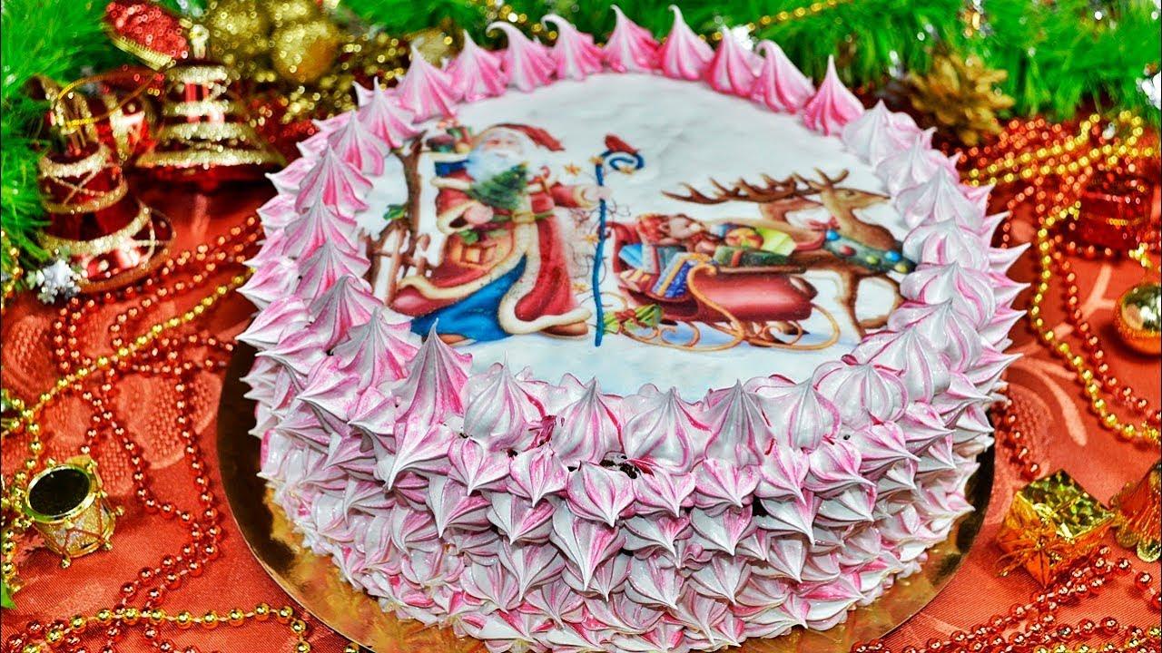 тимасова, украшение торта кремом и сахарной картинкой несчастных
