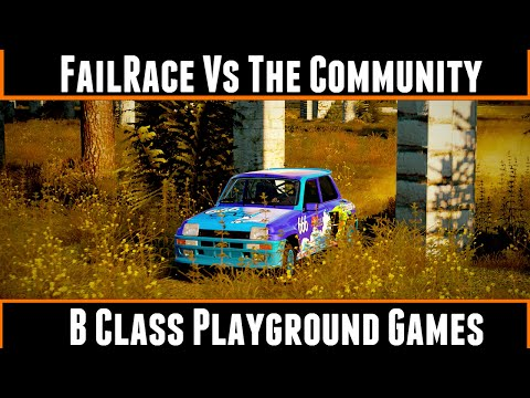 FailRace Vs The Community B Class Playground Games