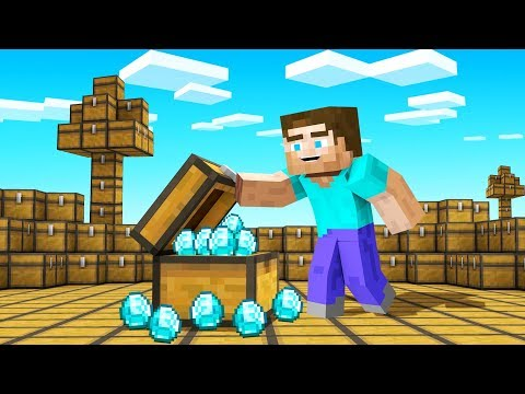 Minecraft BUT The ENTIRE World Is CHESTS!