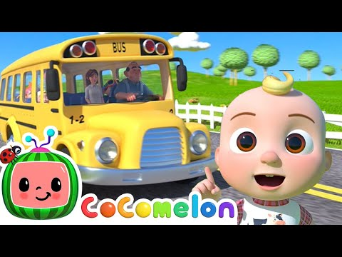 CoComelon - Wheels On The Bus + More Nursery Rhymes & Kids Songs - CoComelon