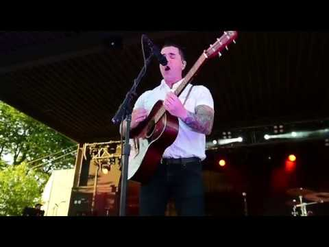 Dashboard Confessional performs at 95X's Big-X-Cuse in Syracuse, NY